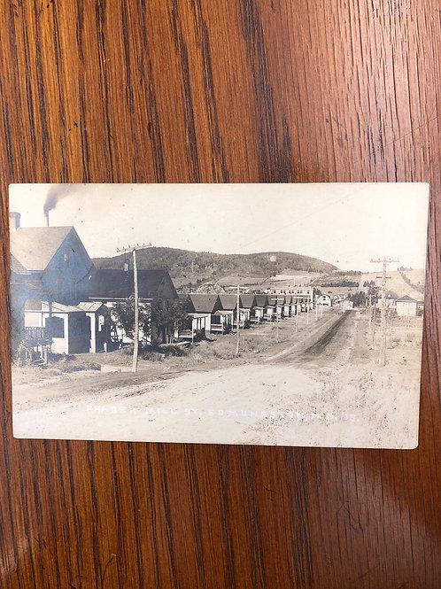 Edmunston, New Brunswick - Fraser Mill Street 1924