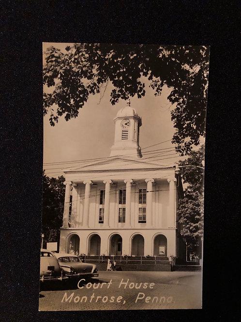 Montrose Pennsylvania - Court House