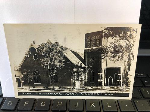 Larned, Kansas - 1st Methodist Church 1943