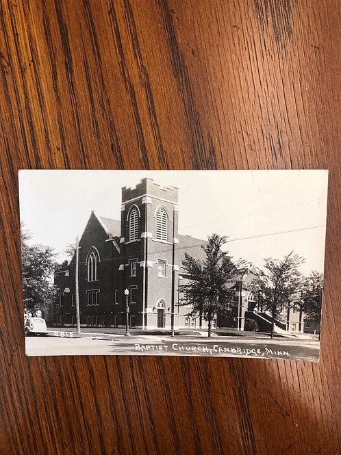 Cambridge, Minnesota - Baptist Church