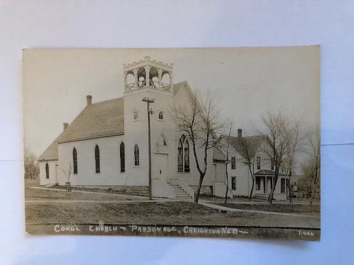 Creighton, Nebraska Congregational Church and Parsonage