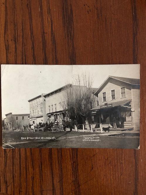 Milladore, Wisconsin - Main st. 1909