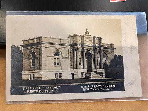 Beatrice, Nebraska Free Public Library 1907