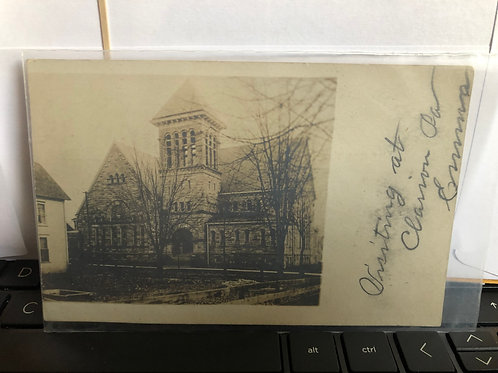 Clarion, Pennsylvania -First presbyterian Church 1907
