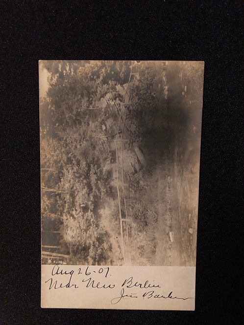 New Berlin Pennsylvania - Creek & Trail ( dated 1907 by hand)