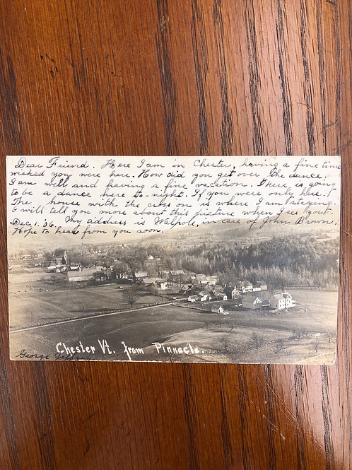 Chester,Vermont- Hilltop view 1906