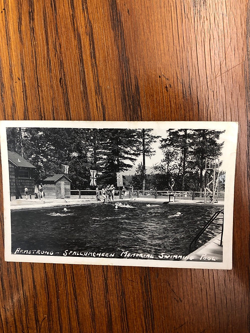 Armstrong, British Columbia - spallumcheen swimming pool