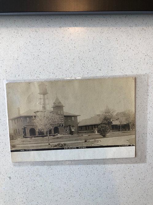 Lisbon, North Dakota 1908 Soldiers home