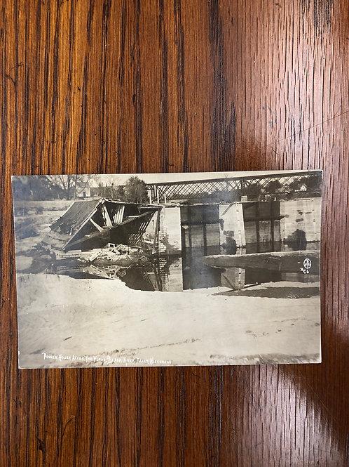 Black river falls, Wisconsin - powerhouse after flood 1914