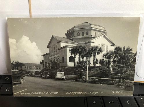 Clear water, Florida - Calvary Baptist Church