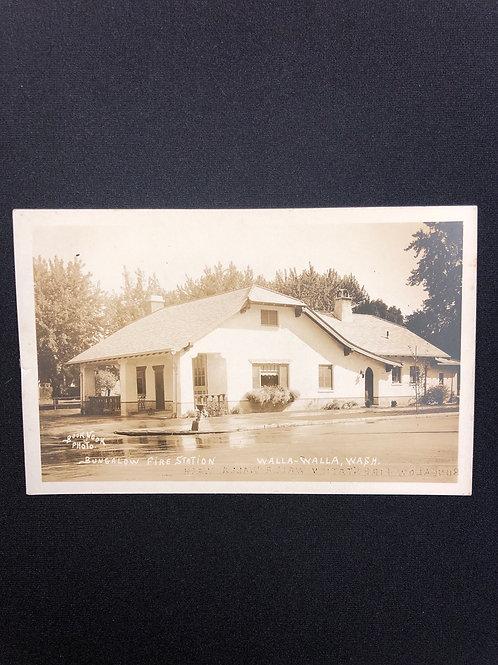 Walla walla, Washington - Bungalos fire station