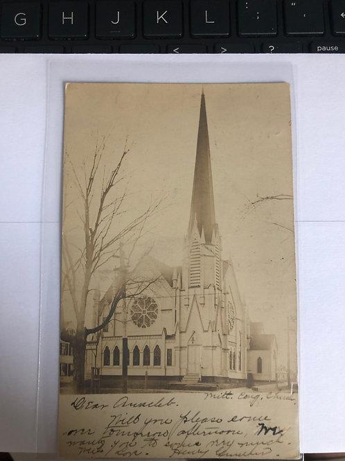 Mittineague, Massachusetts - Congregational Church 1907