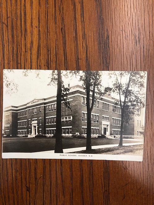 Sussey, New Brunswick- Public school 1927