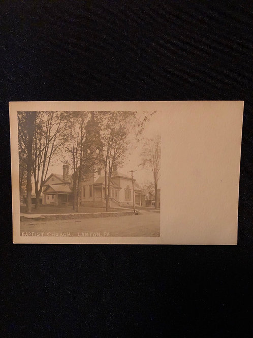 Canton Pennsylvania -  Baptist Church