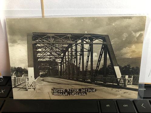 Shoals , Indiana - White River Bridge