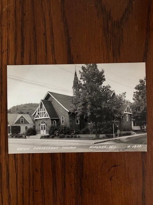 Niagara Wisconsin union protestant church