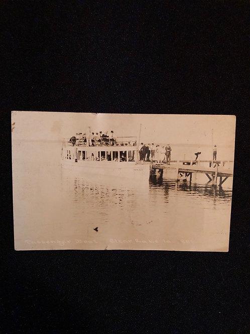 "Clear lake Iowa - passenger boat ""Princess""  1926"