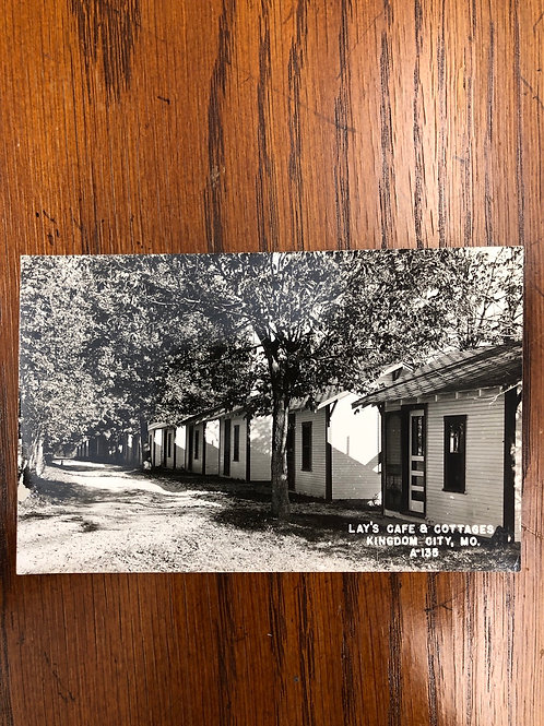 Kingdom city , Missouri - Lays cafe & cottages
