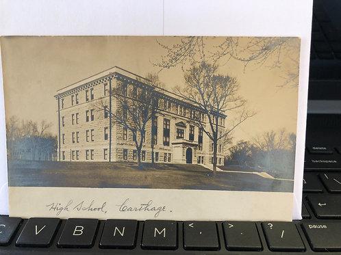 Carthage, Illinois- High school