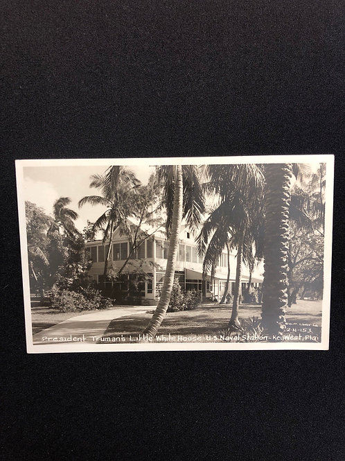 Key west Florida - U.S Naval Station president Truman's Little White House