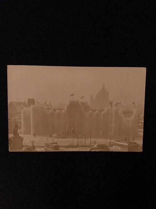 St. Paul Minnesota  - Ice Palace 1937