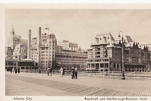Atlantic City - Boardwalk - Marlborough - Blenhein Hotel