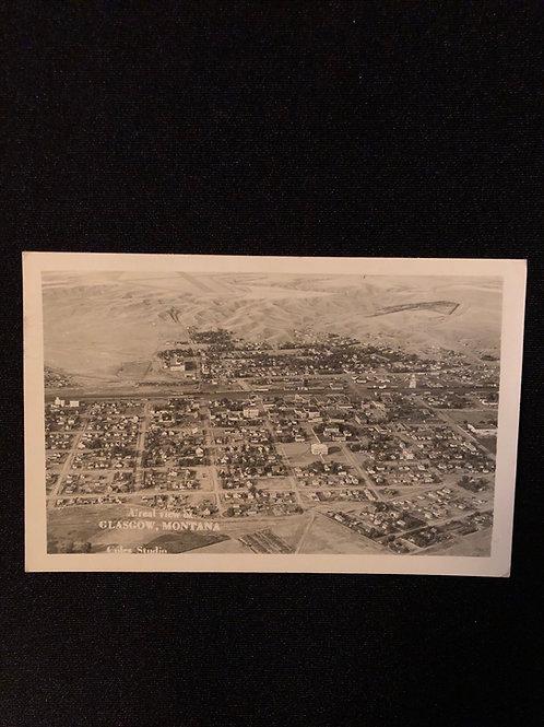 Glasgow Montana - Aerial Views 1949