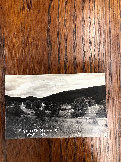 Plymouth, Vermont - Hilltop 1938