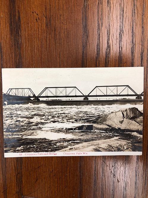 Chippewa falls , Wisconsin - bridge 1909