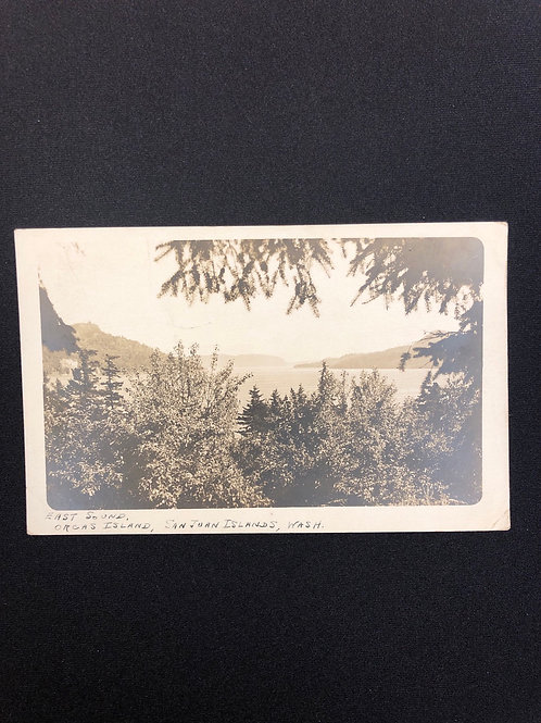 San Juan Islands , Washington - East sound Orcas Island 1927