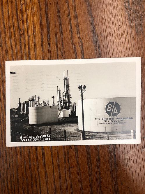 Moosejaw, SASK - BA Oil Tanks 1956