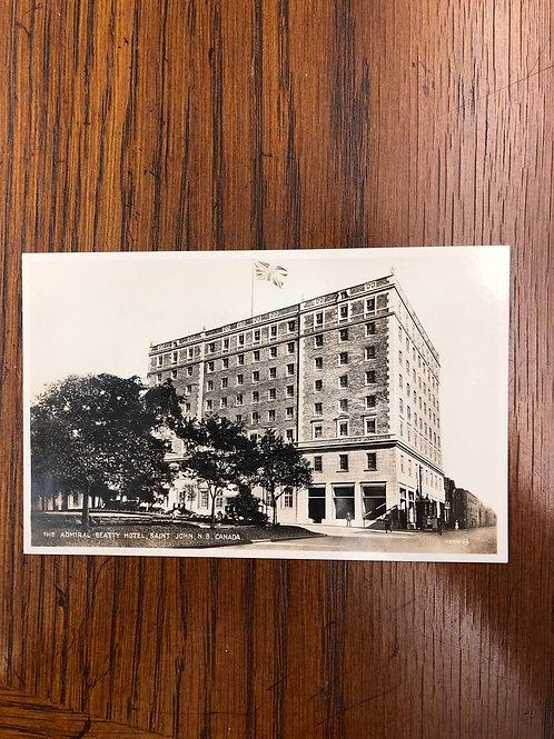 St. John , New Brunswick - Admiral Beatty Hotel