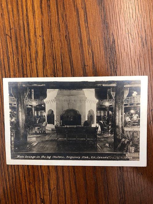 Montreal, Quebec - seigniorage club lounge 1945