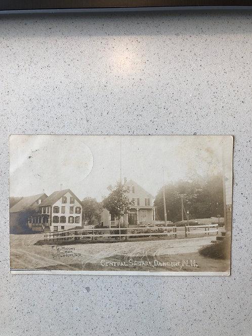 Danbury,New Hampshire Central Square 1907