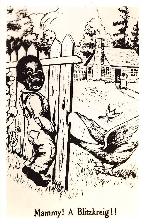 Mammy a Blitzkreig boy with penis in fence & goose grabbed it