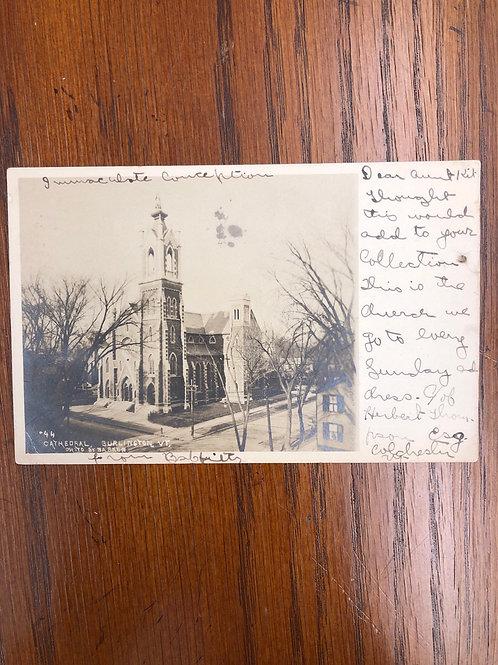 Burlington, Vermont - Cathedral 1906