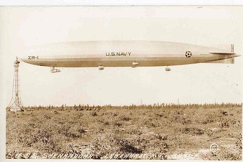 Lake Hurst - U.S.S. Shenandoah Blimp U.S.Navy airship