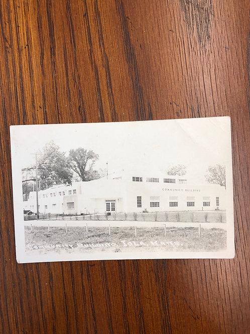 Iola, Kansas - Community Building 1947