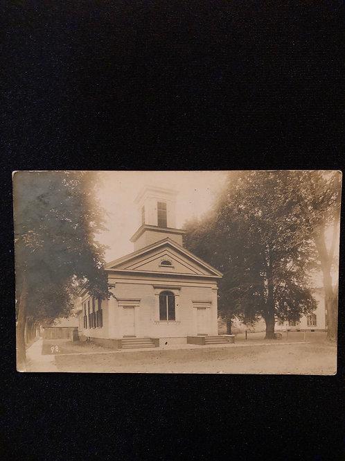 Oneida Illinois - Congregational Church 1909
