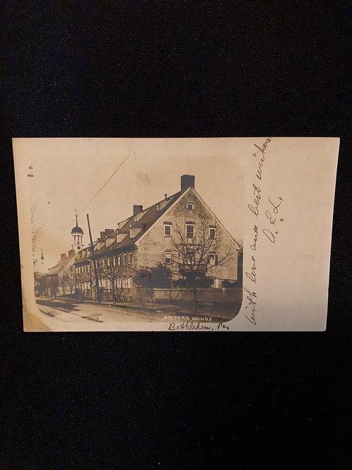 Bethlehem Pennsylvania - Sisters house 1905