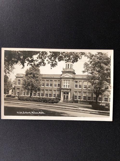 High school - Milan , Michigan  1947