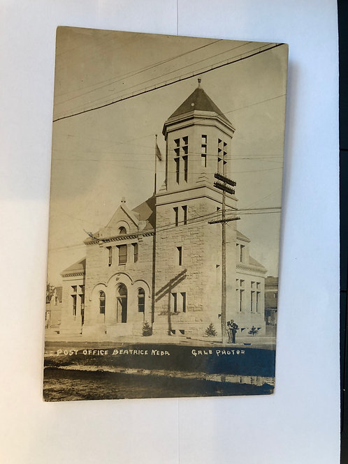 Beatrice, Nebraska Post Office 1910