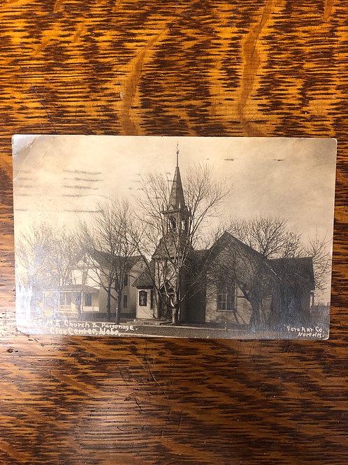 Clay center, Nebraska - M.E. Church & Parsonage 1919