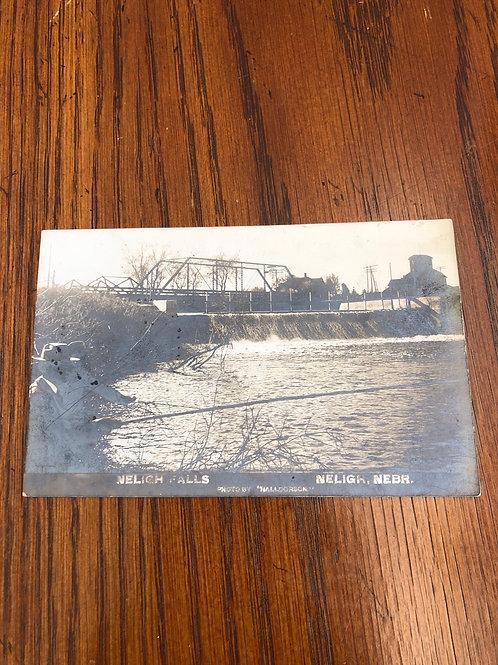 Neligh, Nebraska - Neligh falls & bridge 1909
