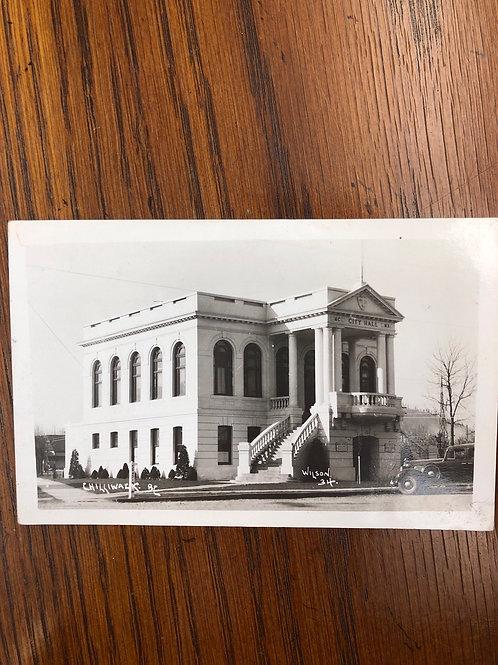 Chiliwack, British Columbia - city hall 1945