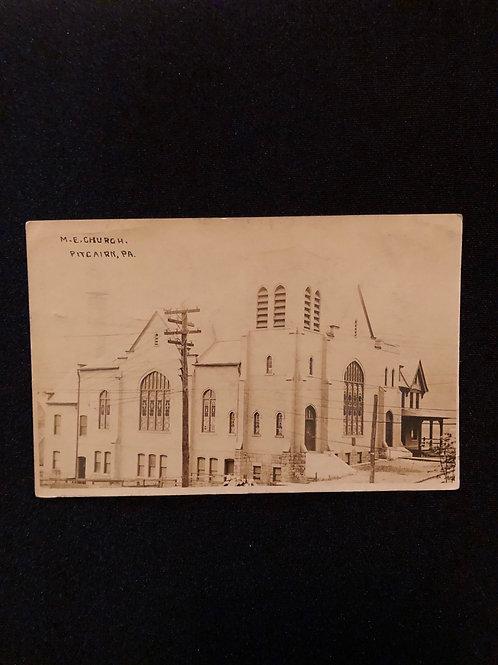 Pitcairn Pennsylvania - M.E. Church 1909