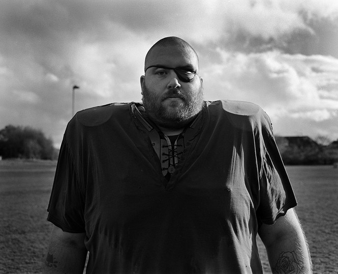 The big man Invernes american football t
