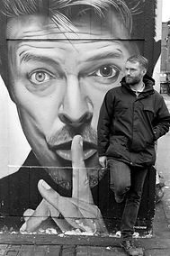 Portrait of a man Smoking in Manchester