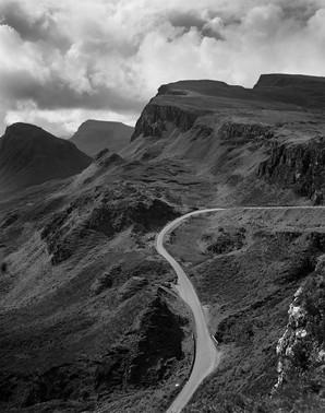 Quiraing range of Mountains Skye Scotland