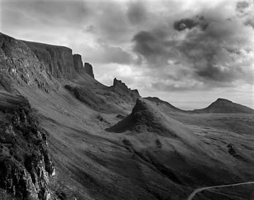 Quiraing range of Mountains, Skye, Scotland